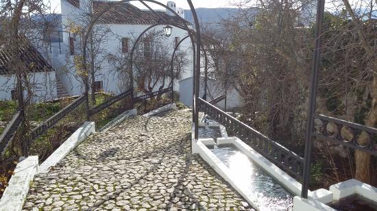 Hotel Villa de Priego de Cordoba: Camino de bajada a los apartamentos