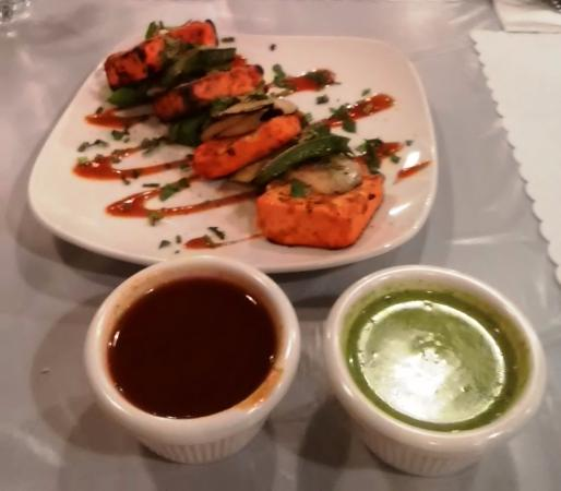 paneer tikka roasted homemade cottage cheese picture of saffron rh tripadvisor com