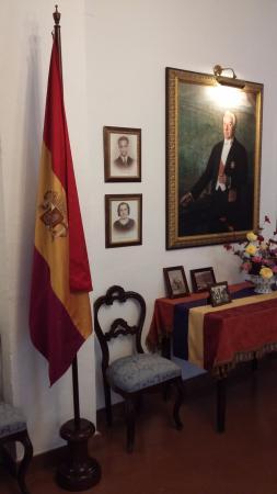 Casa Museo de Niceto Alcalá: Detalle del salón