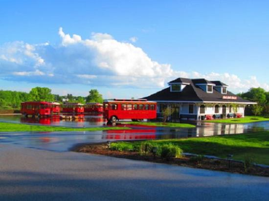 Egg Harbor, WI: Trolley Station