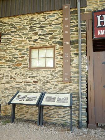 The Flood Water Marks Over The Years Picture Of Harpers Ferry - Trip advisor harpers ferry