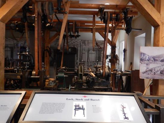 Display In The Industry Museum Picture Of Harpers Ferry National - Trip advisor harpers ferry