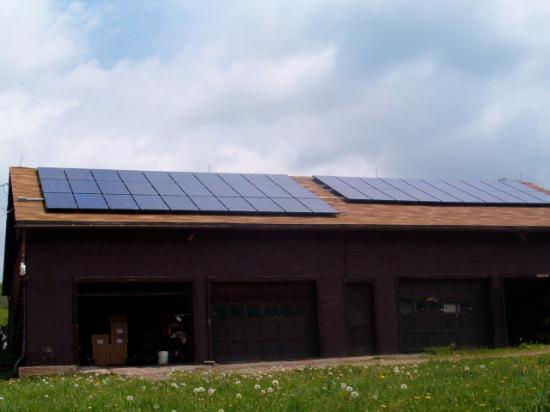 Callicoon Center, État de New York : Solar Panels