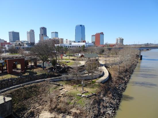 View From Bridge Picture Of Junction Bridge Little Rock