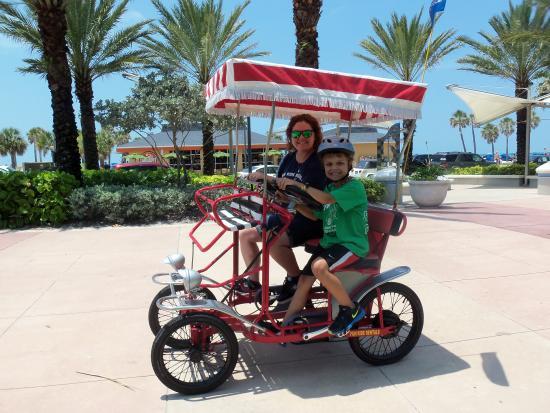single surrey picture of fun ride rentals clearwater tripadvisor rh tripadvisor com