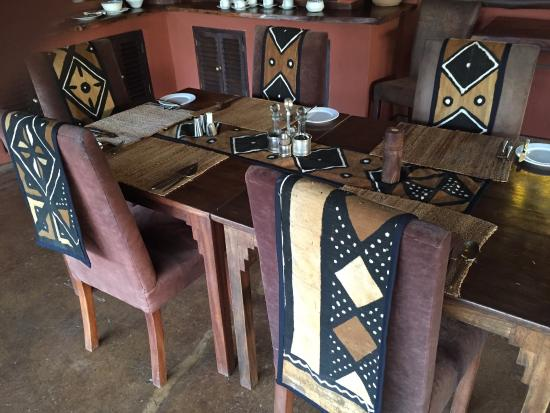 Tawi Lodge: Dining area