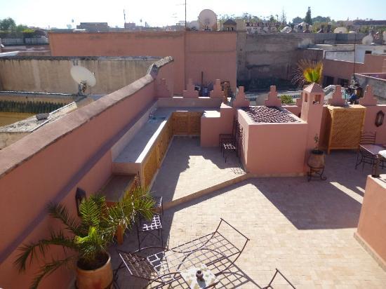 Riad Layla Rouge : Terrace