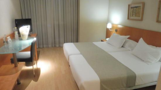 Silken St. Gervasi Hotel: Das Zimmer im 5. Stock
