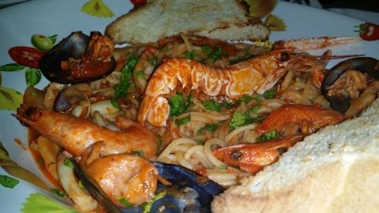 Taverna Bella Napoli: Spaghetti allo scoglio