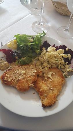 Vienna Restaurant & Historic Inn: Delicious