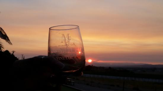 McGrail Vineyards and Winery: Sunset at McGrail