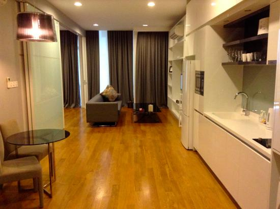 Salon Et Cuisine  Picture Of The Face Suites Kuala Lumpur