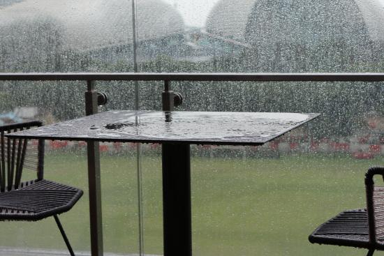 our table was well sheltered from the elements unlike perimeter one rh tripadvisor co za