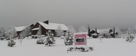 Monroe, OR: Benton-Lane Snow