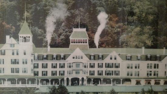 Omni Mount Washington Resort Old Art Painting At Mt Hotel