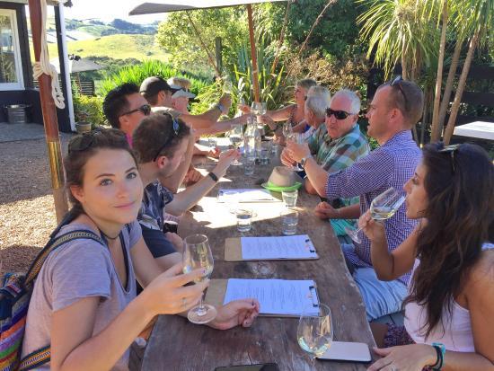 Isla Waiheke, Nueva Zelanda: The Waiheke Wine Tour Company