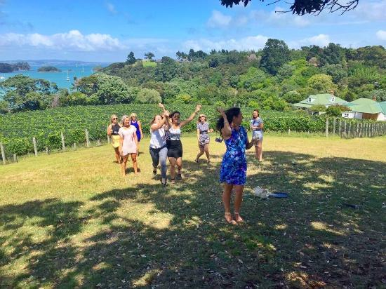 Waiheke Island, New Zealand: The Waiheke Wine Tour Company