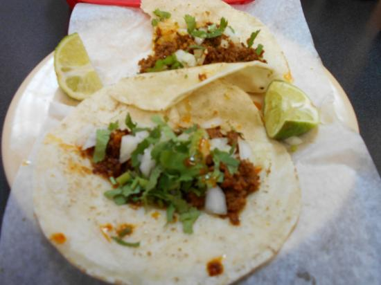 Hartford, MI: Tacos with chirizo sausage