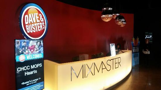 lobby and hostess counter picture of dave buster s denver rh tripadvisor com