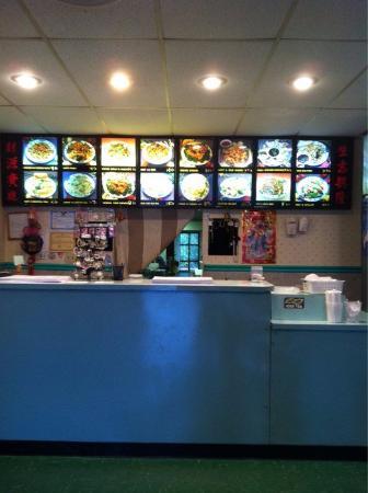 Saint Clair, MO: Inside. Counter