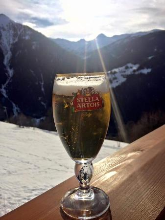 La Vache : Beer with a view