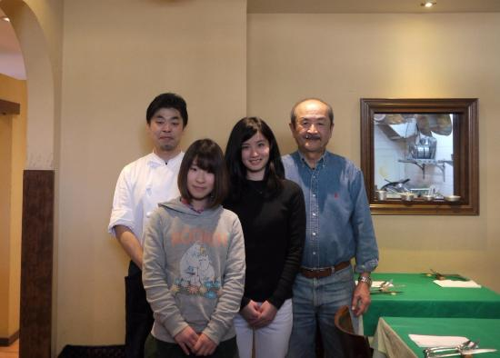Bisutoroinkontoro: オーナシェフ奥津尚也さんと記念撮影