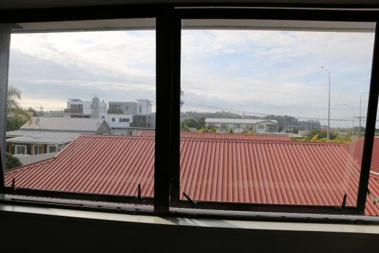 Albatross Motel: View from kitchen window