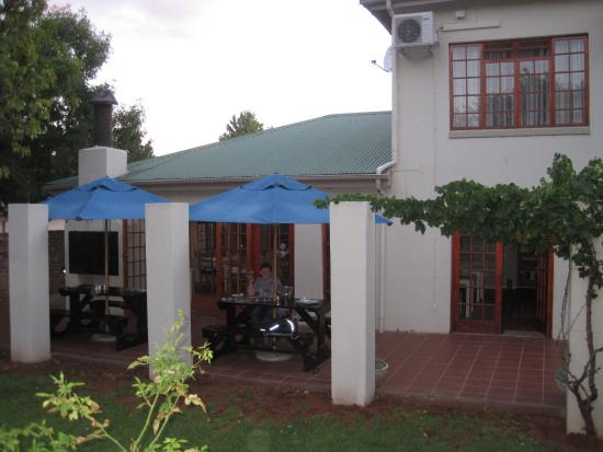 The restaurant at Celtis Country Lodge