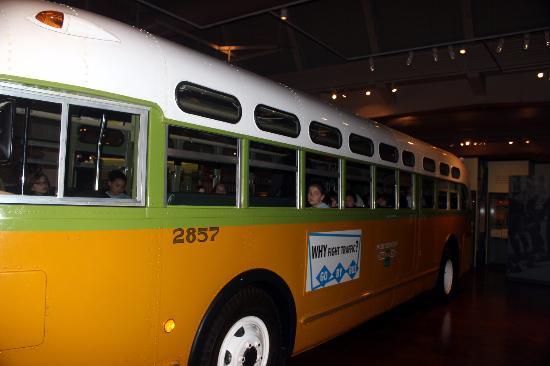 The Actual Bus Rosa Parks Rode In Birmingham Alabama Picture Of