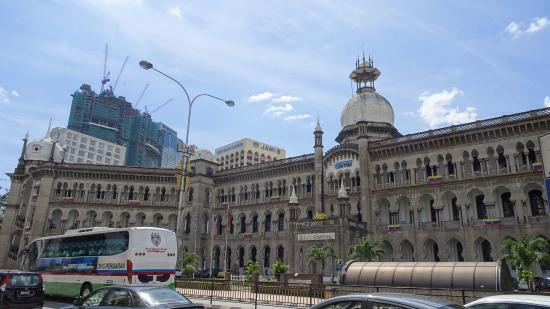 Malayan Railways Limited Building: クアラルンプル駅側からの眺め