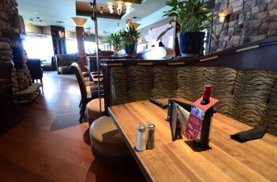 spacious and open dining room booth table high top options rh tripadvisor ca