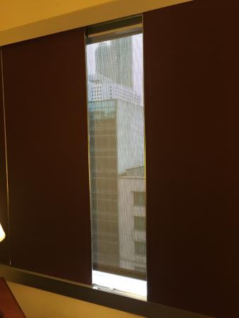 sliding shades for total room blackout picture of prudential hotel rh tripadvisor com