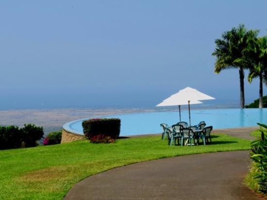 ホルアロア, ハワイ, 一見プールみたいですが、とても浅いです