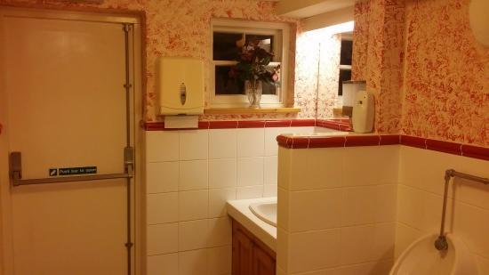 Badminton, UK: Gent's toilet