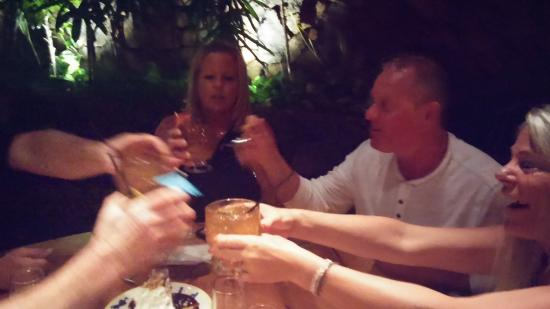Keoki's Paradise: Toasting to great friendship