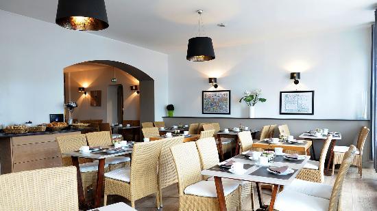 Côte Basque Hôtel: petit déjeuner