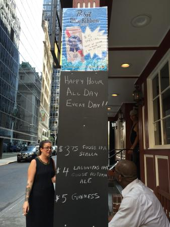 happy hour all day every day picture of the white horse tavern rh tripadvisor com