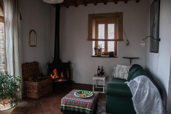Pornello, Italien: Apartment TERRAZZA living