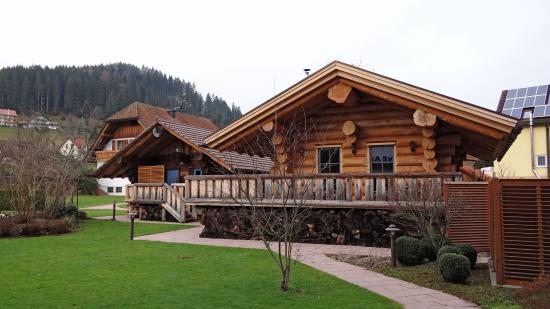 sauna blockh tten picture of hotel lamm baiersbronn tripadvisor. Black Bedroom Furniture Sets. Home Design Ideas