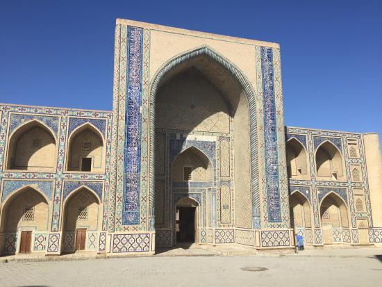 Bukhara, Uzbekistan: Фасад
