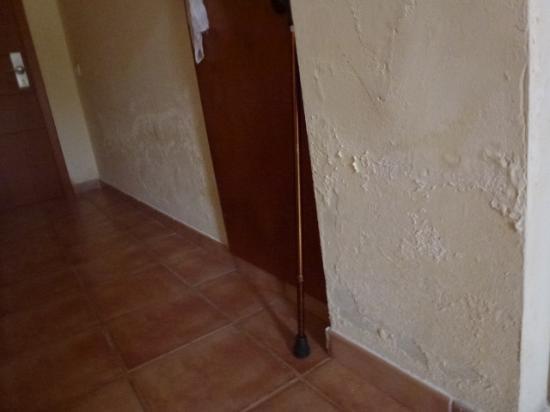 Feuchte Wande Hier Das Kleinste Problem Picture Of Hotel Cotillo
