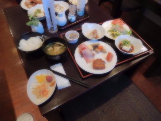 Silk Inn Kagoshima: 朝食:和食