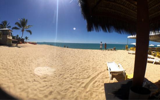 Sunshine Praia Hotel : Boa gente!  Boa praia