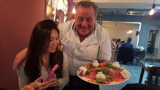 Bei Li Ni NanXiuCun: Burratine and Parma ham