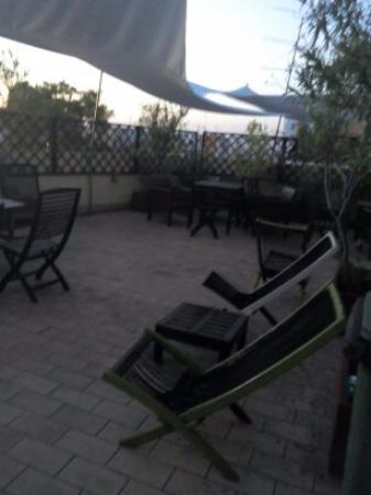 Samay Hostel Sevilla: Terraço