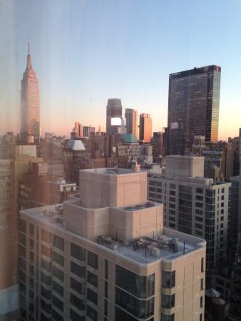 Vue sur l'empire State, de notre fenêtre de la chambre 3606