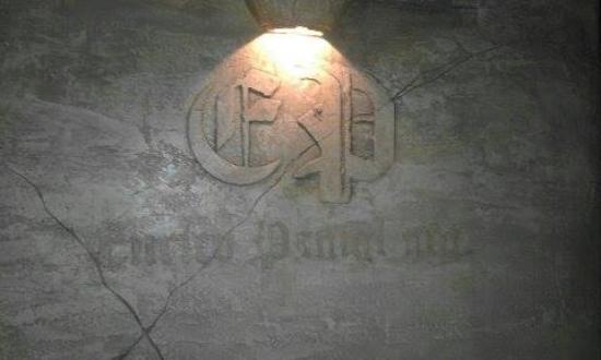 Enrico Panigl: Das Logo an der Wand