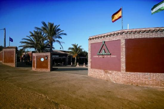 Jardin de las dunas bewertungen fotos tarifa spanien for Camping jardin de las dunas