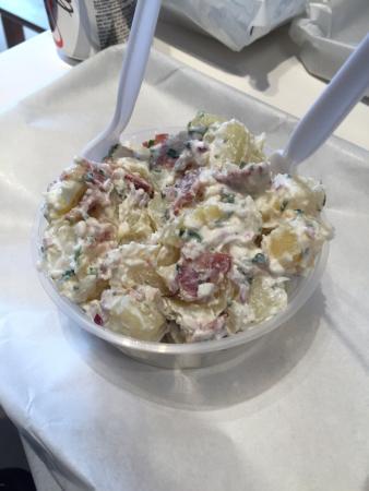 Theke, Crunchy Chicken Salad Sandwich, Potato Bacon Salad ...