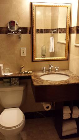 Small, but luxurious bathroom!